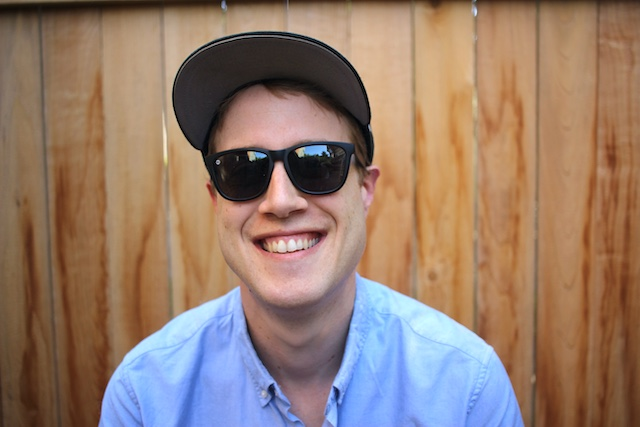 My dog Howie and myself.